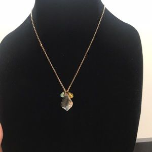 Jewelry - Crystal necklace adjustable length